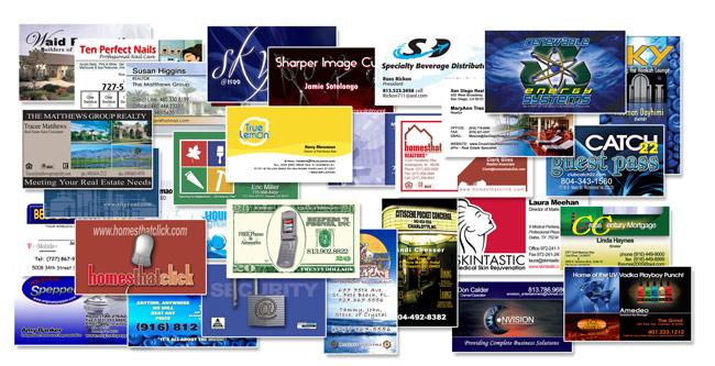 Custom business cards reheart Gallery